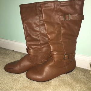 Shoes - Brown High Boots